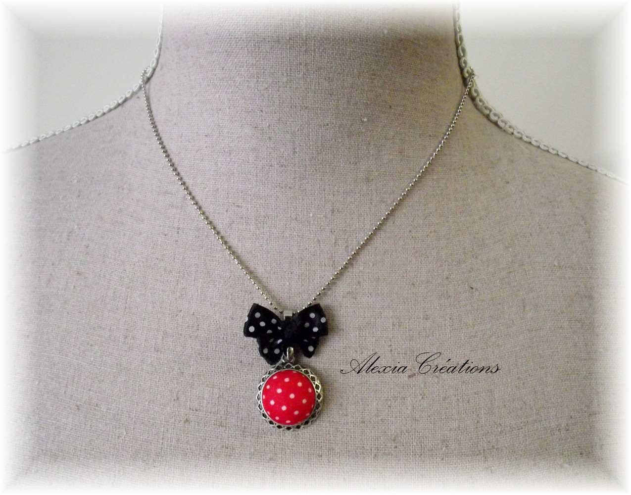 Collier Petits pois