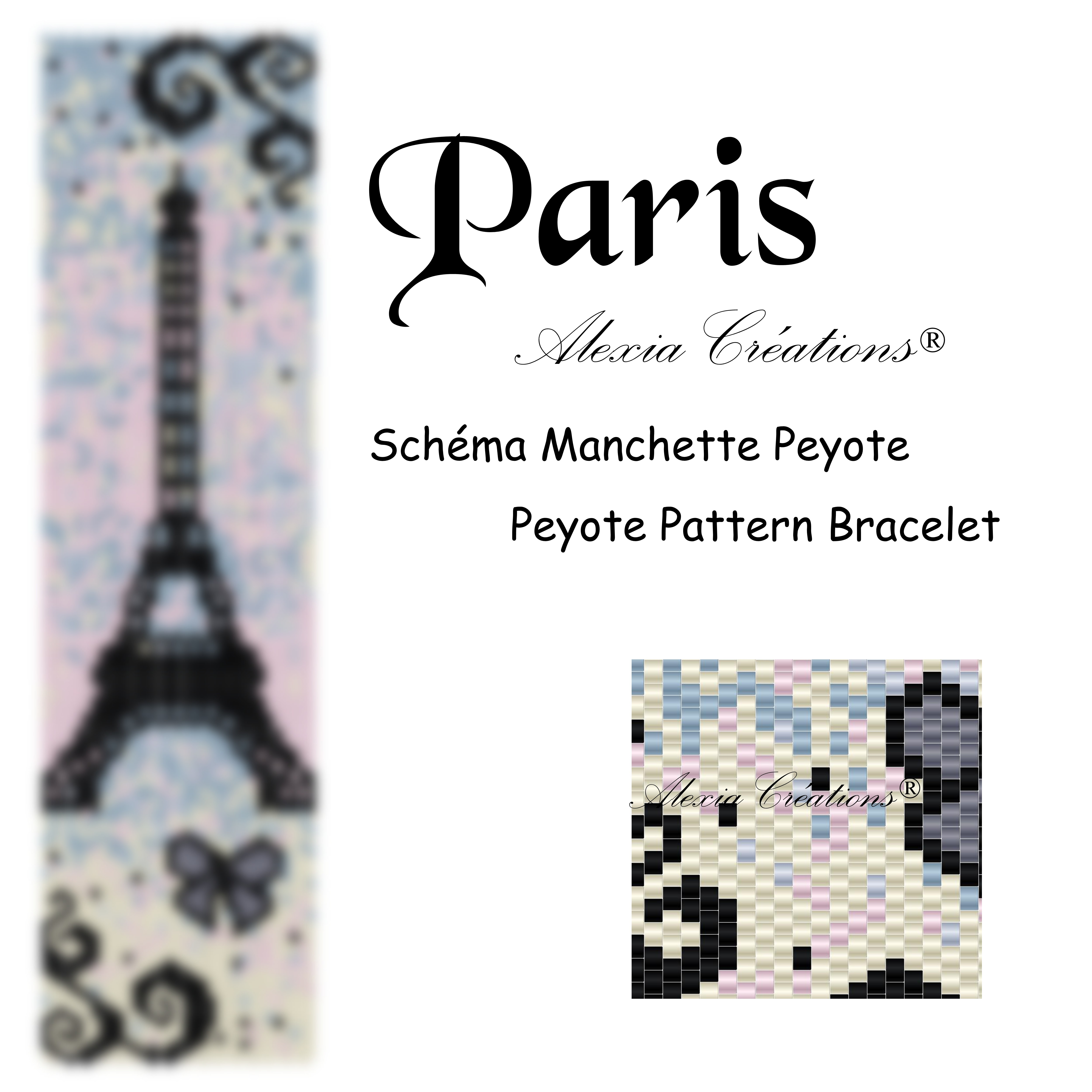 Manchette peyote Paris