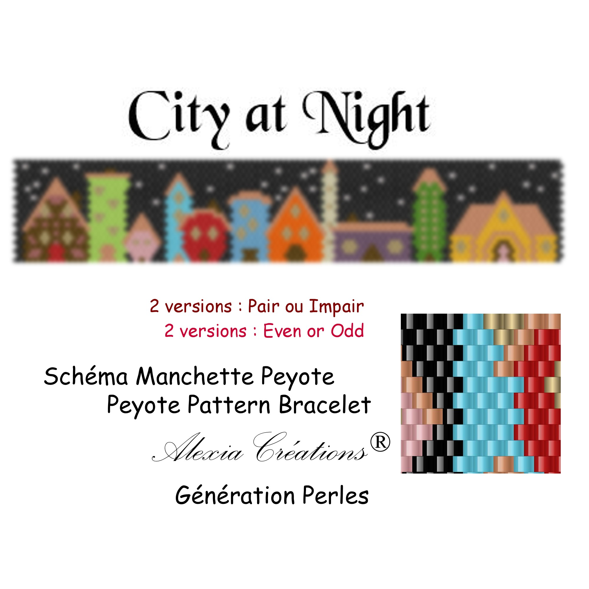 Manchette peyote City at Night