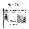 Zoomer sur Chat et Lune - Moon Cat