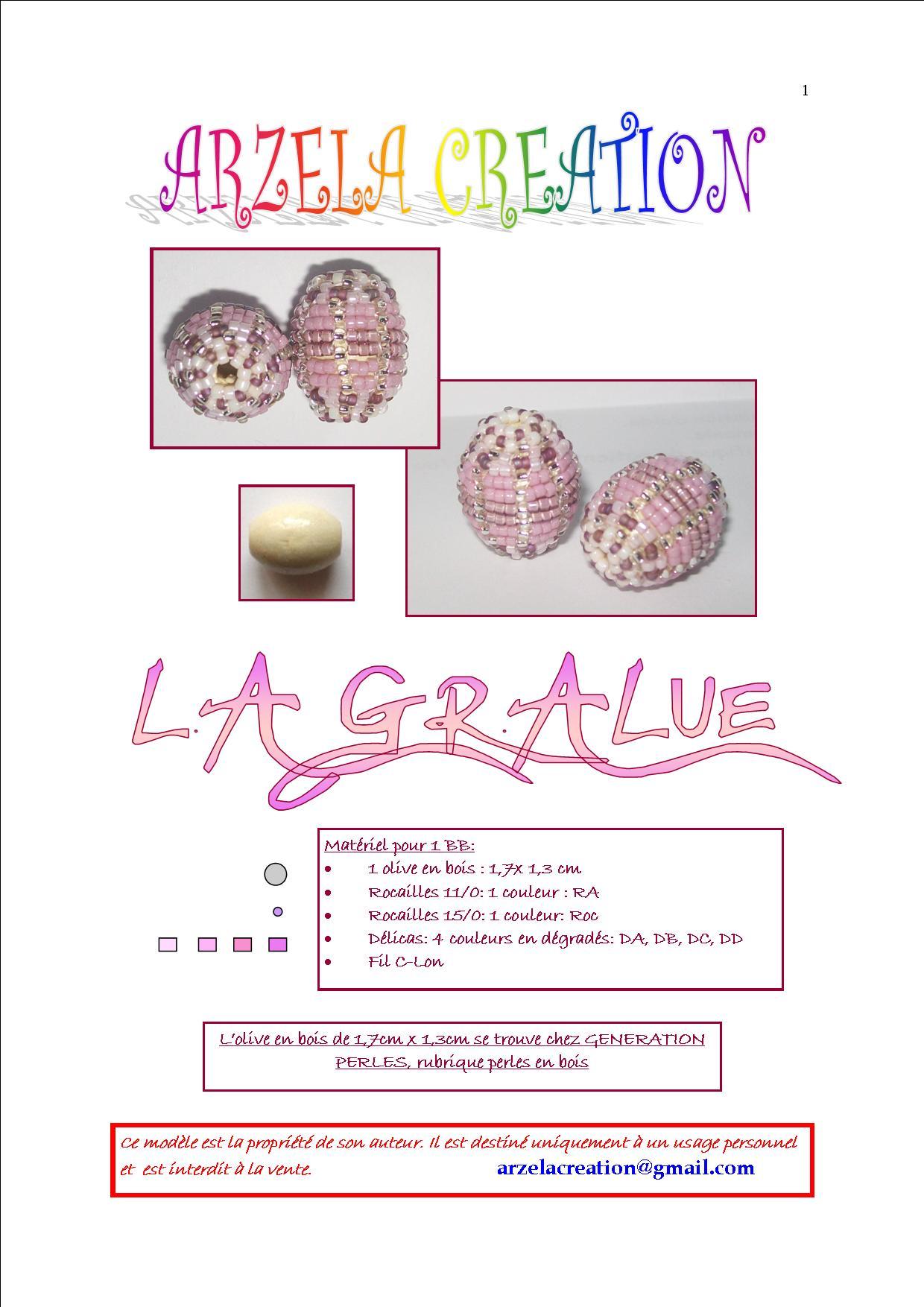 """Perle Perlée """"La Gralue"""" Gralue1"""